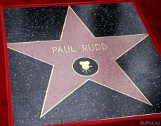 Звезда Пола Радда появилась на Аллее Славы