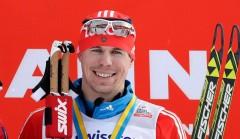 Россиянин Сергей Устюгов выиграл гонку преследования в рамках лыжной гонки