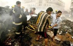Десять человек стали жертвами второго за день теракта в Багдаде