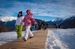 К началу зимнего сезона в горном кластере Сочи было дополнительно оборудовано 1,5 тысячи посадочных мест в кафе и ресторанах