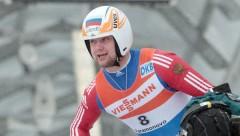 Российский саночник Павличенко стал победителем этапа КМ в Латвии