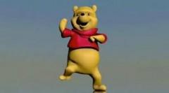 Танцующий Винни-Пух «порвал» Интернет (видео)