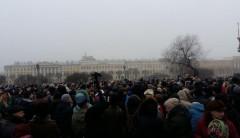 Акция против передачи Исаакиевского собора в пользование РПЦ проходит в Петербурге