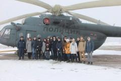 В Краснодаре сотрудники авиационного отряда Росгвардии провели экскурсию для школьников
