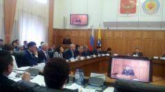 Главный полицейский Калмыкии принял участие в 27-й сессии Народного Хурала пятого созыва