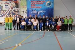 В Красноармейском районе следователи приняли участие в играх со спортсменами клуба для инвалидов «Дельфин»