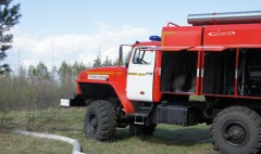 В Калмыкии и Астраханской области пожароопасно