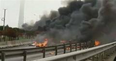 В Стамбуле разбился вертолет с четырьмя россиянами на борту