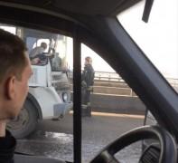 В Мурманской области из-за ДТП с 13 автомобилями ограничили движение по трассе