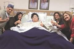 Одна из самых тяжелых женщин в мире после пяти недель лечения в Индии похудела на 140 кг