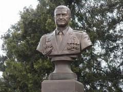 В Кореновске открыли памятник Герою России Ряфагатю Хабибуллину