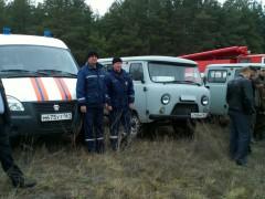 В Усть-Донецком районе Ростовской области прошли противопожарные учения
