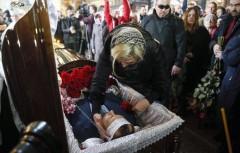 Вороненкова похоронили на Зверинецком кладбище в Киеве