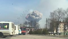В результате взрывов на складе боеприпасов в Балаклее повреждены 243 здания