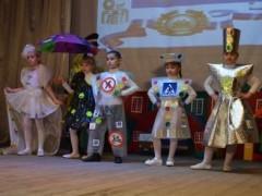 Донские дошколята представили «Экологическое дефиле» в стиле дорожных знаков