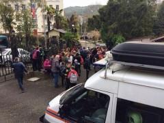 Учащихся сочинской гимназии эвакуировали из-за угрозы взрыва