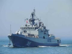 Фрегат «Адмирал Григорович» вернулся в состав ВМФ в Сирии