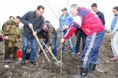Губернатор Кубани принял участие в закладке нового парка