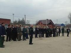 На Кубани прошли тактико-специальные учения по тушению лесных пожаров