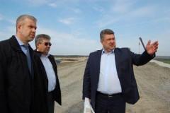 Строительство транспортной развязки М-4 «Дон» - АК «Платов» завершится в июне
