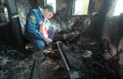В Оренбургской области жертвами пожара стали четыре человека