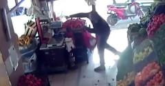 В Турции мужчина отбился помидорами от вооруженного преступника