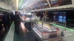 В Невинномысск на один день прибыл инновационный поезд-музей
