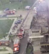 Пожар на парковке в Краснодаре локализован на площади 300 кв. метров