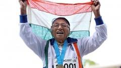 101-летняя индийская бегунья преодолела 100-метровую дистанцию