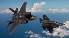 В Эстонию прибыла пара новейших американских истребителей-«невидимок» F-35А