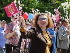 На первомайскую демонстрацию в Краснодаре вышли 56 тысяч человек