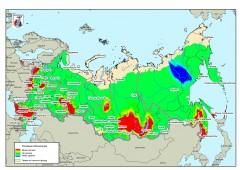 Федеральная Авиалесоохрана составила прогноз пожароопасности в лесах России на май