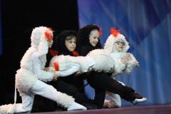 Ансамбль «Флик-Фляк» выступил в рамках первого конкурсного дня международного фестиваля «Факел»