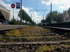 В Краснодаре на перекрёстке улиц Красных Партизан и им. Каляева отремонтируют трамвайный переезд