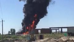 В Дагестане на АЗС прогремел мощный взрыв, двое погибли