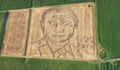 """Итальянский фермер """"нарисовал"""" на поле портрет Путина"""