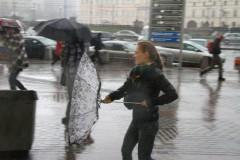 В Москве объявлен желтый уровень опасности из-за грозы и ветра