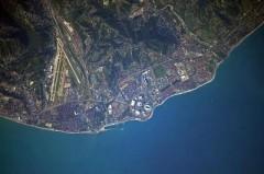Олимпийские объекты Сочи сфотографировали с МКС