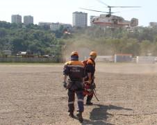 Сочинские спасатели эвакуировали туриста на вертолете