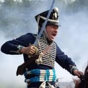 Более тысячи реконструкторов разыграли генеральное сражение Отечественной войны 1812 года в Бородине