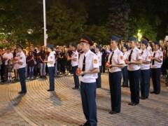 В Краснодаре представители общественных советов приняли участие в акции «Свеча памяти»