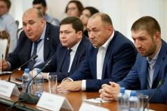 Губернатор Кубани встретился с депутатами Госдумы седьмого созыва