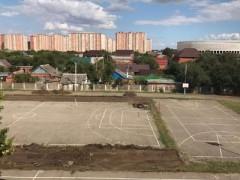 В краснодарской школе №11 построят современный мини-стадион