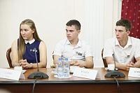 Вениамин Кондратьев провел встречу с участниками экспедиции «Дорогой героев»
