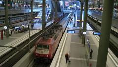 В Бельгии в тоннеле застрял поезд