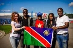 В Сочи на Фестиваль молодежи и студентов прибыли участники из Африки
