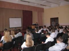 Очередной кинолекторий о ЗОЖ провели для школьников Краснодара