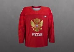 Представлена форма сборной России по хоккею на Олимпийские игры 2018