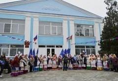 В Щербиновском районе после реконструкции открылся сельский дом культуры
