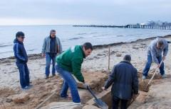 Древнюю могилу на пляже в Евпатории нашёл случайный прохожий